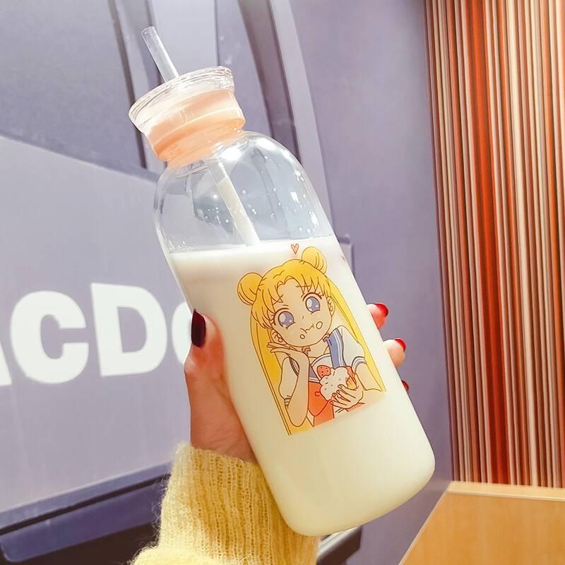 Sailor Moon Cute Glass Bottle 450/750ml