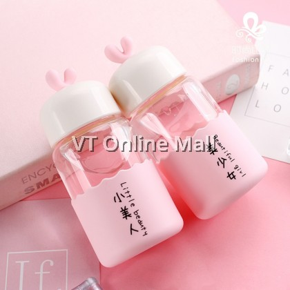 Little Fairy Creative Glass Drinking Bottle 250ml