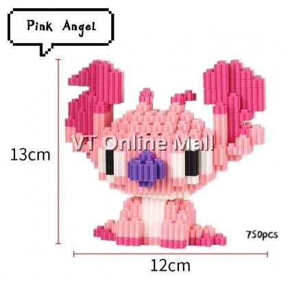 Cartoon Magic Blocks Doreamon  & Pinky Stitch