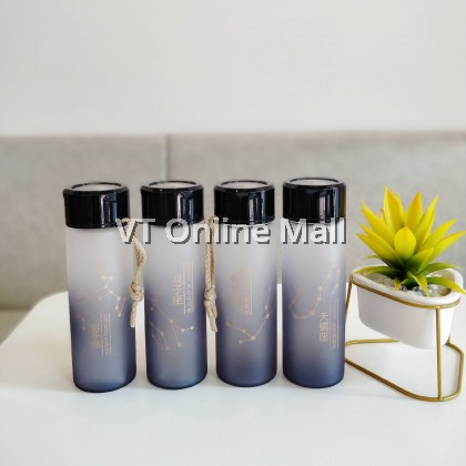 Horoscope Fashion Glass Drinking Bottle 350ml
