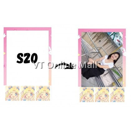 Polaroid Photo Cute Sailor Moon Design Printing Service [2pcs]