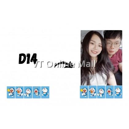 Polaroid Photo Doraemon Design Printing Service [2pcs]