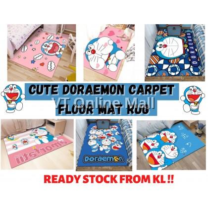 Cute Doraemon Carpet Floor Mat Rug (50 x 80cm)