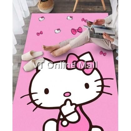 Cute Hello Kitty Carpet Floor Mat Rug (40x60cm / 50x80cm)