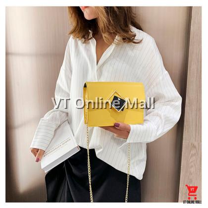 Diamond Square Korean Fashion Stylish Women Shoulder Bag Hand Bag