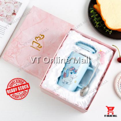 Unicorn Creative Cute Coffee Cup Mug Doorgift Festival Present For Girl ( Pink / Blue Color)